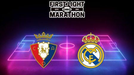 Soi kèo M88 trận Osasuna vs Real Madrid, 03h00 ngày 10/01/2021