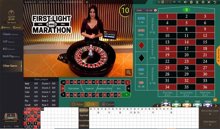 Cách chơi Roulette online