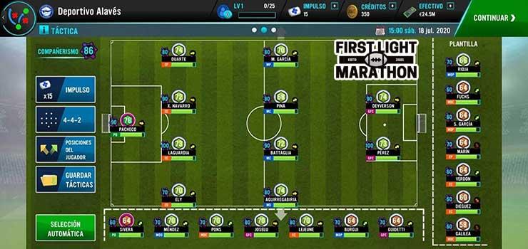 Game quản lý bóng đá online Soccer Manager 2021